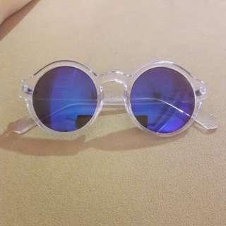 H&M transparent sunglasses
