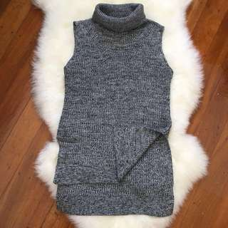 SUPRE Size XXS (8-10) - Turtleneck Knitted Top