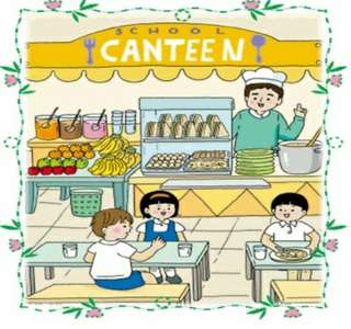 School Canteen Stall Helper