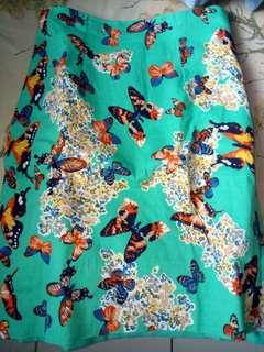 Skirt Pendek Kupu Kupu