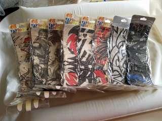 防曬紋身手袖套(全套8款)