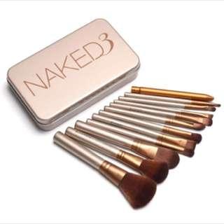 Naked 3 Brush Set 12pcs