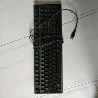 Ducky Mechanical Keyboard (blue key)