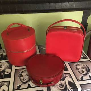 Red Hat Box, Travel & Vanity cases