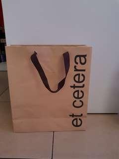Paper bag Et Cetera