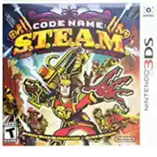 3DS Game: Code Name: S.T.E.A.M.