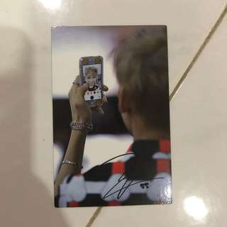WTT Got7 Turbulence Photocard BamBam