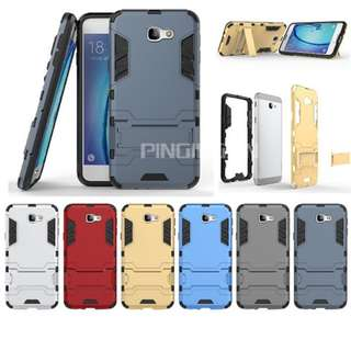 Case Samsung Galaxy J7 Prime (Armor Shield) Series With Stand Mode
