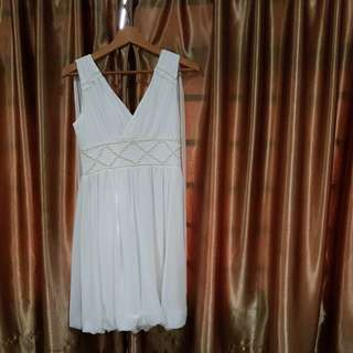 White dress for ROM or as sister