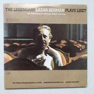 The Legendary Lazar Berman Plays Liszt 2-LP album
