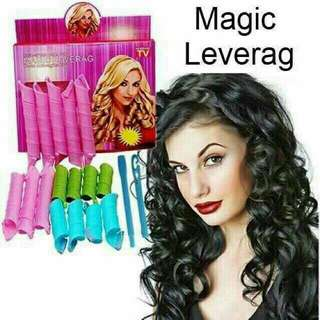 18 pcs Hair Curler Set Magic Leverag