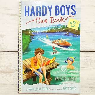 Hardy Boys, Clue Book#3: Water Ski Wipeout