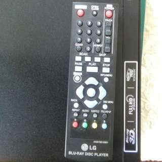 LG Blu Ray player - new