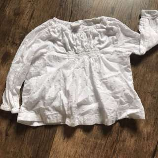Old navy baby girls blouse