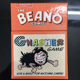 Beano Gnasher Card Game