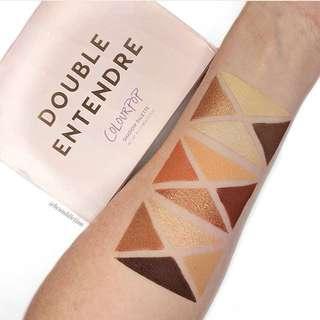 [NEW INSTOCKS] Colourpop DOUBLE ENTENDRE Pressed Powder Shadow Palette