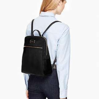 KATE SPADE WKRU 3525 SMALL BREEZY LEATHER BACKPACK