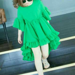 Girl ruffle fishtail