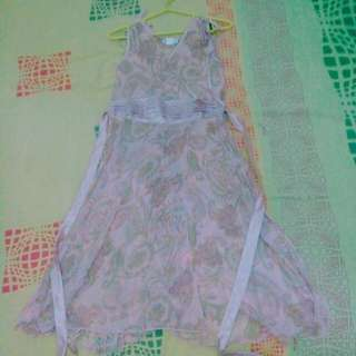 Dress pink soft