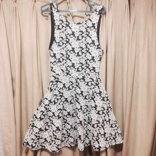 [REPRICE!]H&M Dress motif bunga