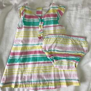 Newborn girl dress