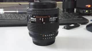 Nikon 35-80mm f4.0 AF D
