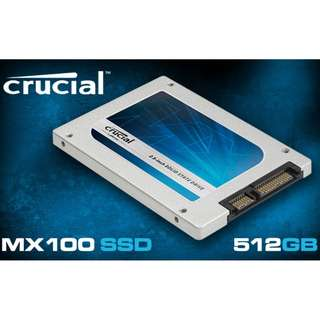 (USED) CRUCIAL MX100 512GB SSD