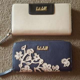 Kate Hill Large Purses x 2