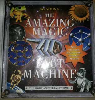 Amazing magic fact machine book