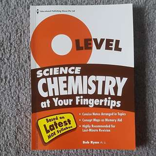 O Level Science Chemistry (based on MOE Syllabus)