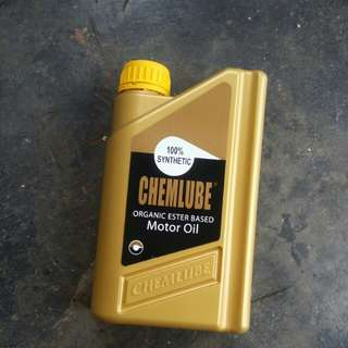 Chemlube motor/engine oil