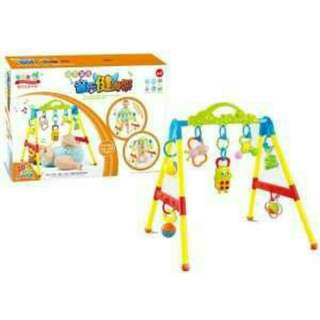 Genuine Baby Music Baby Fitness Rack Infant Educational Toys