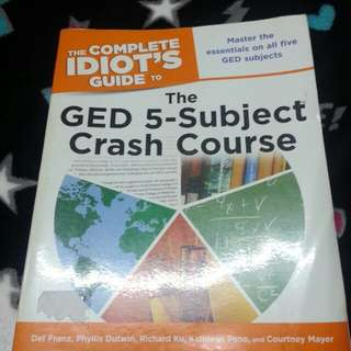 GED 5 subject crash course