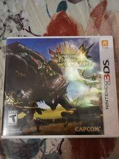 Nintendo 3DS Game Monster Hunter 4U