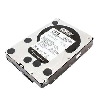 "WD Black 2TB 7200 RPM 64MB Cache 3.5"" HDD WD2002FAEX"
