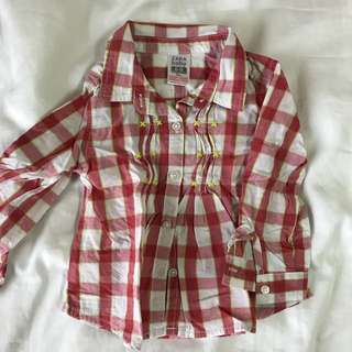 Zara baby girl shirt