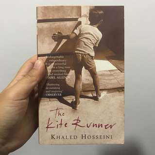 Khaled Hosseini- the kite runner and a thousand splendid suns