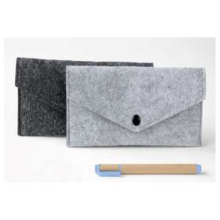 [2 For $20] Felt Pencil Case / Pouch