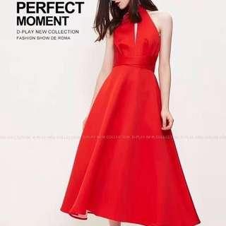 Red Dress - Bisa buat imlekan 😁 - masih model baru