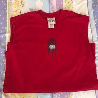 Adidas紅色球衣