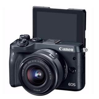 Canon EOS M6 Kit with EF-M 15-45mm f/3.5-6.3 IS STM Lens