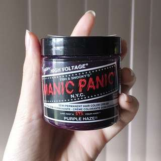 Manic Panic Hair Colour PURPLE HAZE
