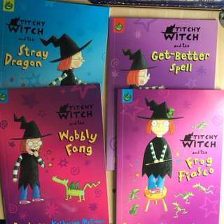 Titchy- Witchy Series (8 Books)