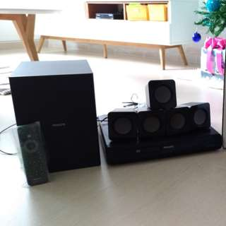For Sale - Philips 5.1 Home Theatre 300W (HTD3510)