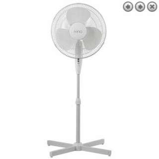Fenici 40cm Pedestal Fan - White