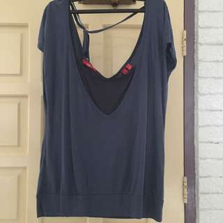 EDC Navy Blue Top