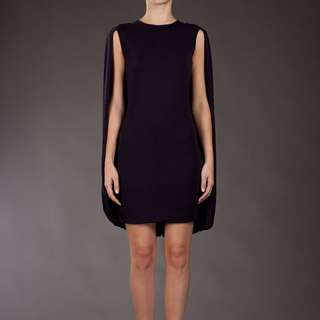 MCQ Alexander McQueen Cape Dress