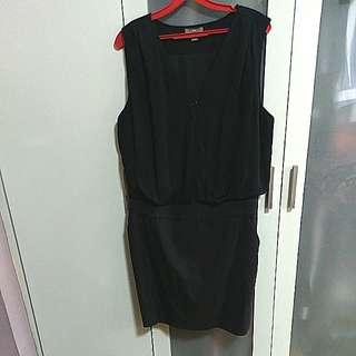 Authentic GAP black dress Size UK16