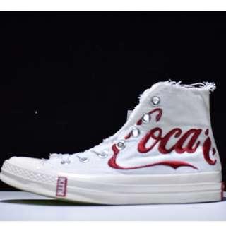 Sepatu Converse Chuck Taylor All Star 70 x Kith x Coca Cola