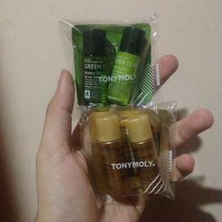 TONYMOLY Chok Chok Green Tea & Intense Care